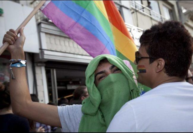LGBT Turkey protest