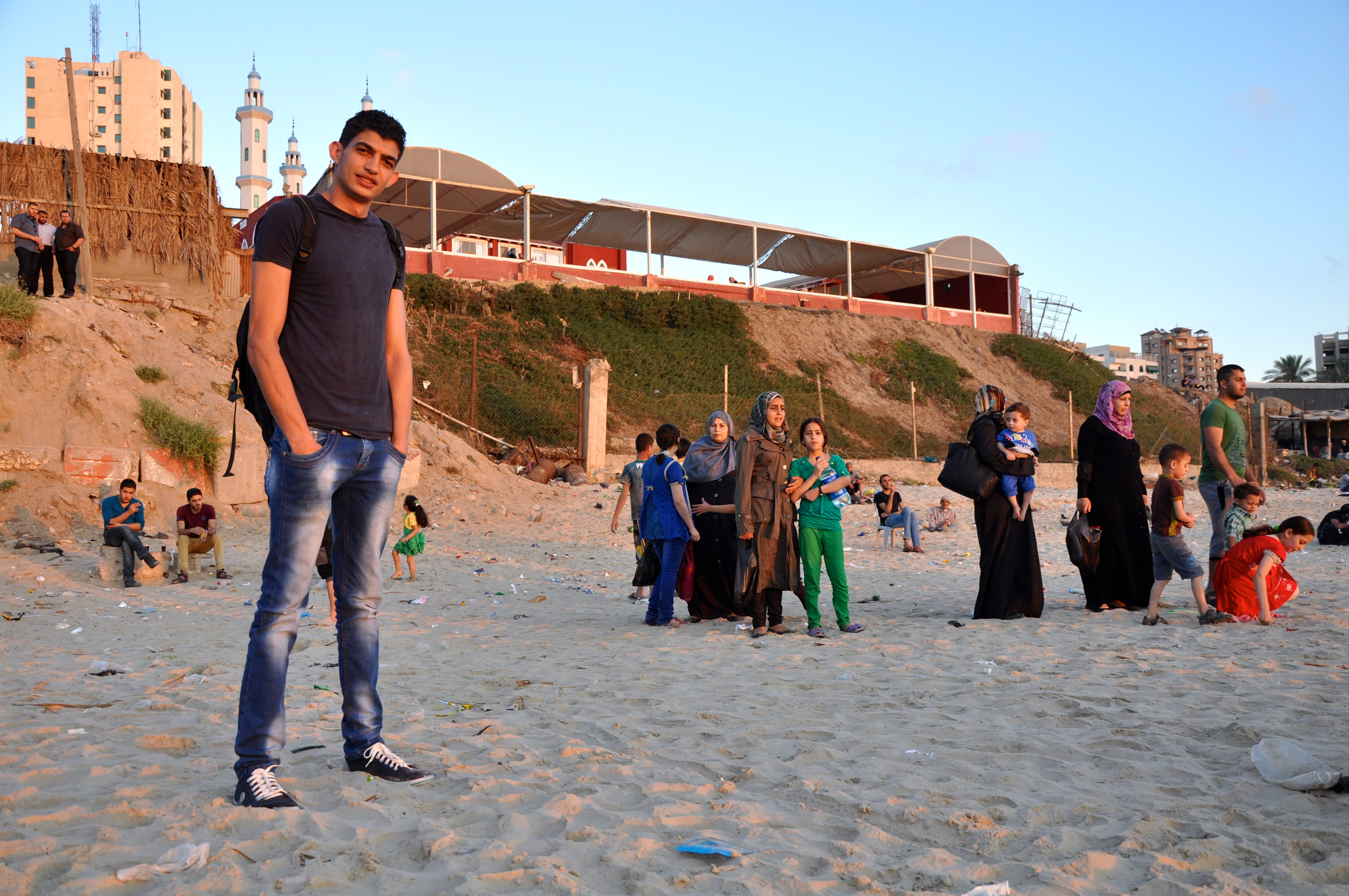 "Gaza Sky Geeks entrepreneurs gather for a pre-investment ""bootcamp."" Lauren Bohn/GroundTruth"