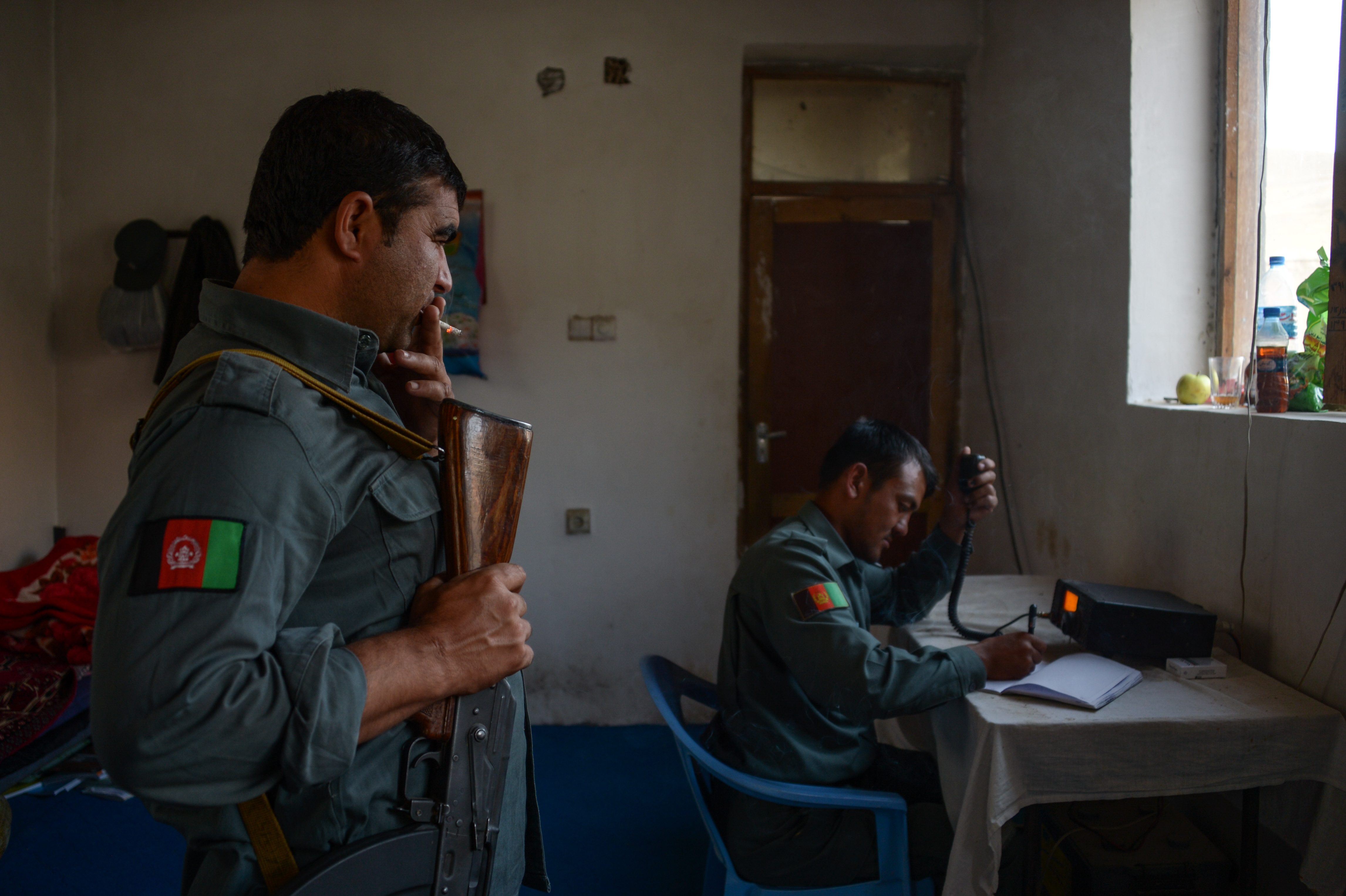 afghan police headquarters