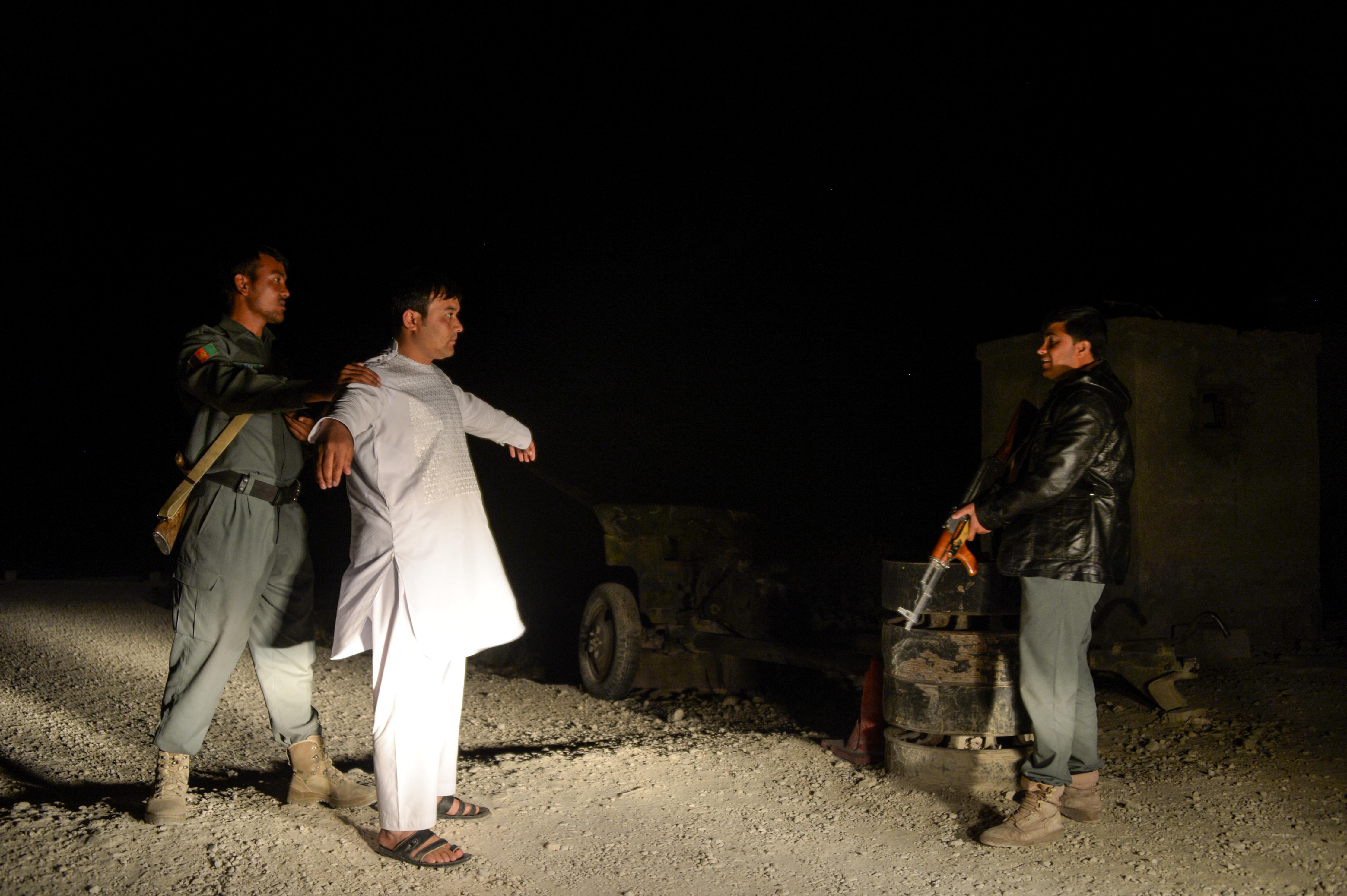afghan police in mazar i sharif
