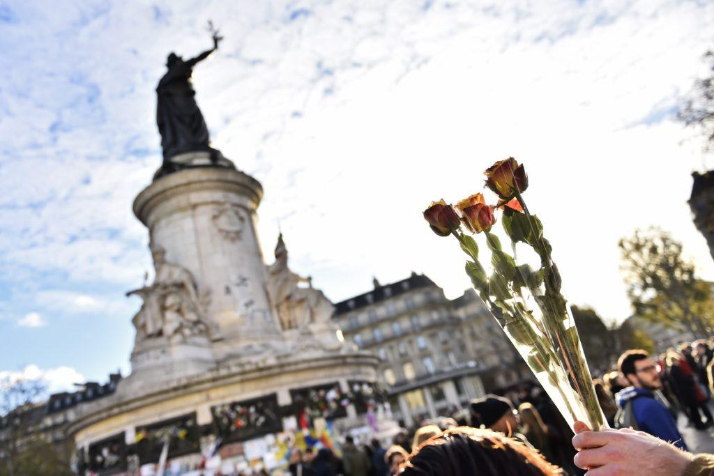 Place de la republique in Paris