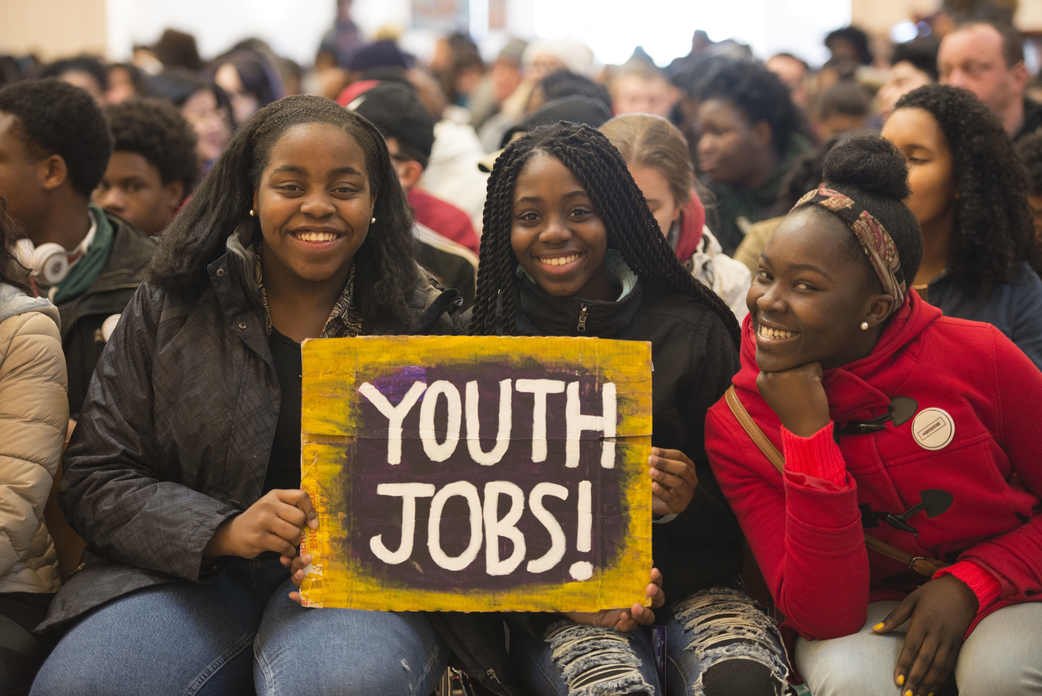 boston youth jobs protest