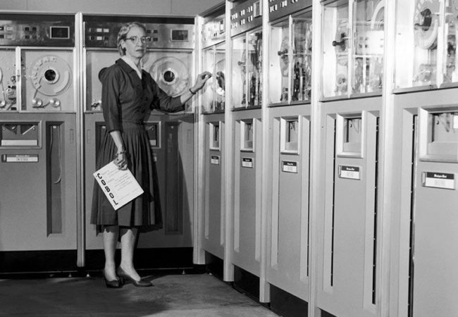 "The ""Women in Tech"" fellowship will include reporting from the Grace Hopper Celebration of Women in Computing, named for computer scientist Grace Hopper (1906-1992). (Vasser College)"