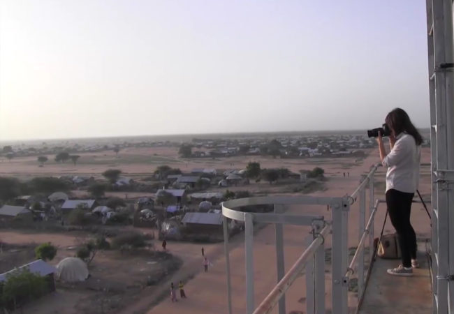Nichole Sobecki (pictured) reported in Somalia and Dadaab refugee camp for The GroundTruth Project.