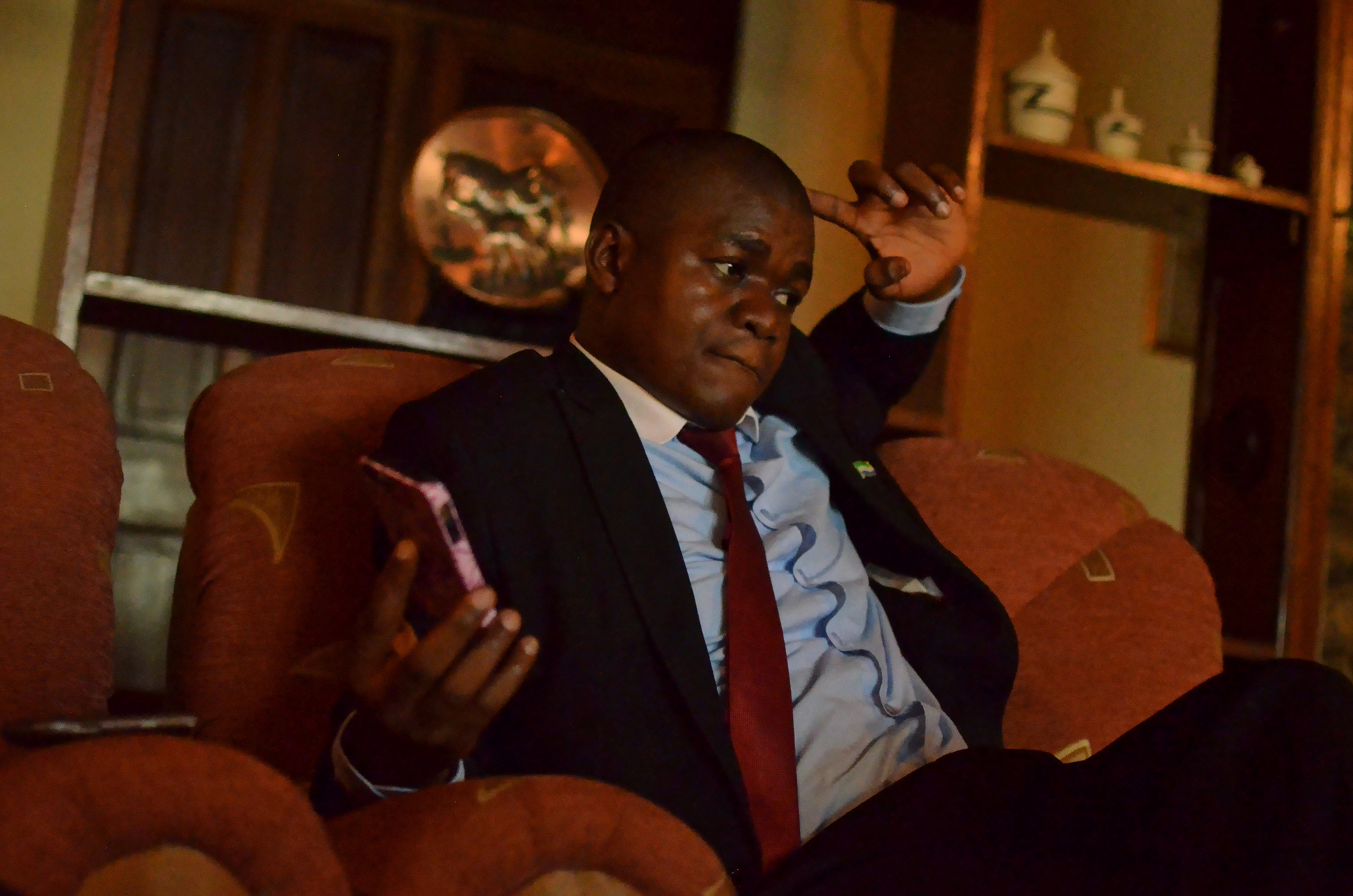 Koidu Mayor Saa Emmerson Lamina was suspended in February. At the time, he was in the process of taking Octea to court, arguing that the company should pay property taxes.