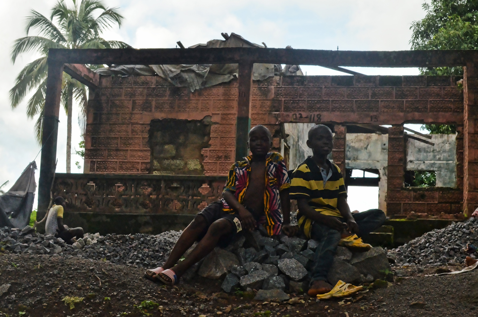 Koidu was a rebel stronghold for much of Sierra Leone's 11-year civil war, and the damage is still visible in many of its buildings.