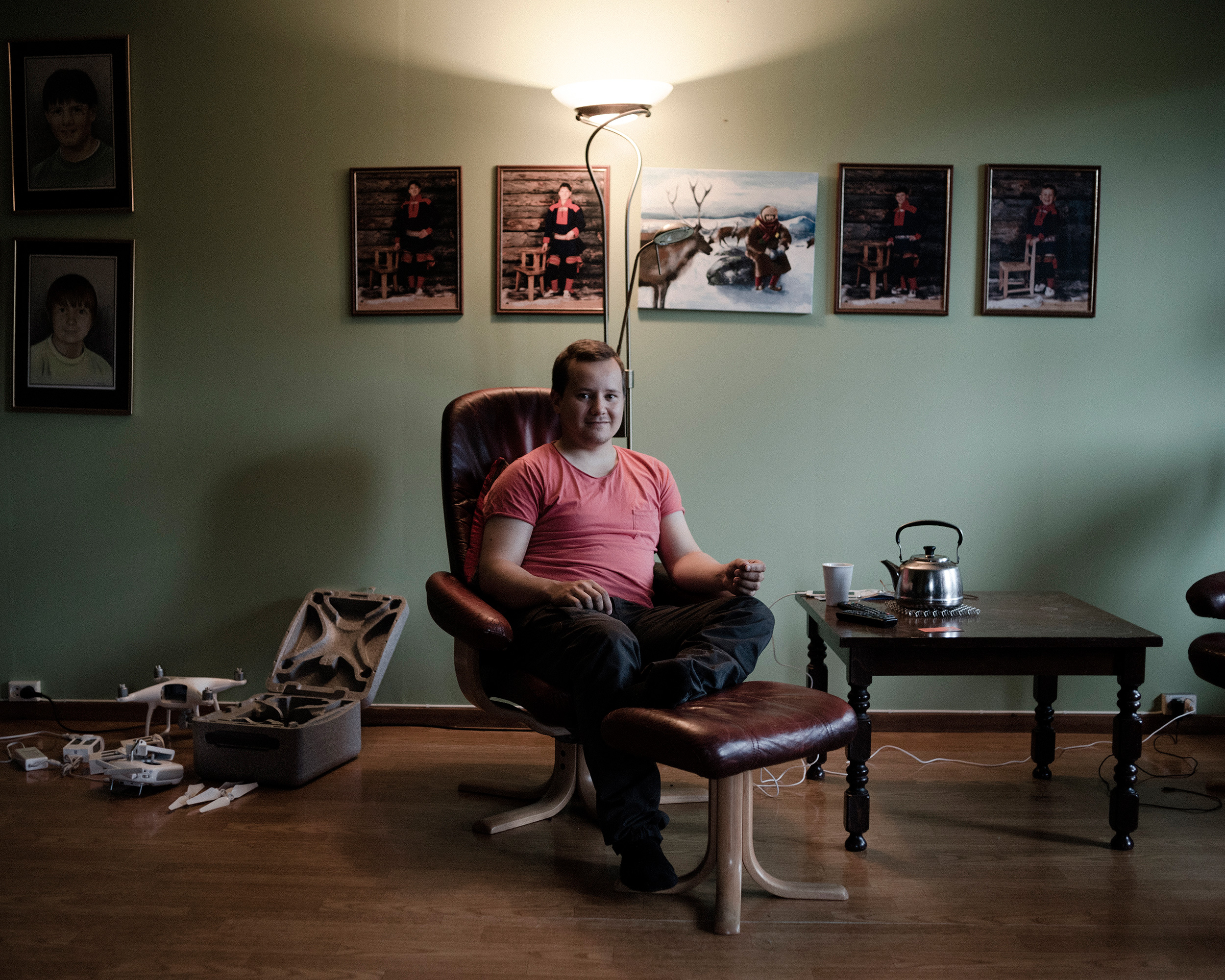 Jon Mikkel Eira is a younger reindeer chef who hopes to make his mark on the culinary world by preserving traditional Sami recipes. (Camilla Andersen/GroundTruth)