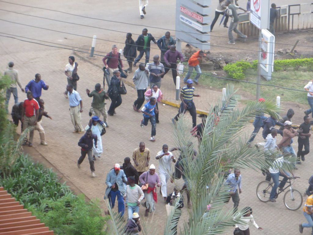 "67 people were killed and at least 175 were injured during the mass shooting at the Westgate shopping mall in Nairobi, Kenya, on Sept. 21, 2013. The attack was carried out by Al-Shabaab, a Jihadist militant group whose name translates to ""the youngsters."" (Photo by Anne Knight/Wikimedia Commons)"