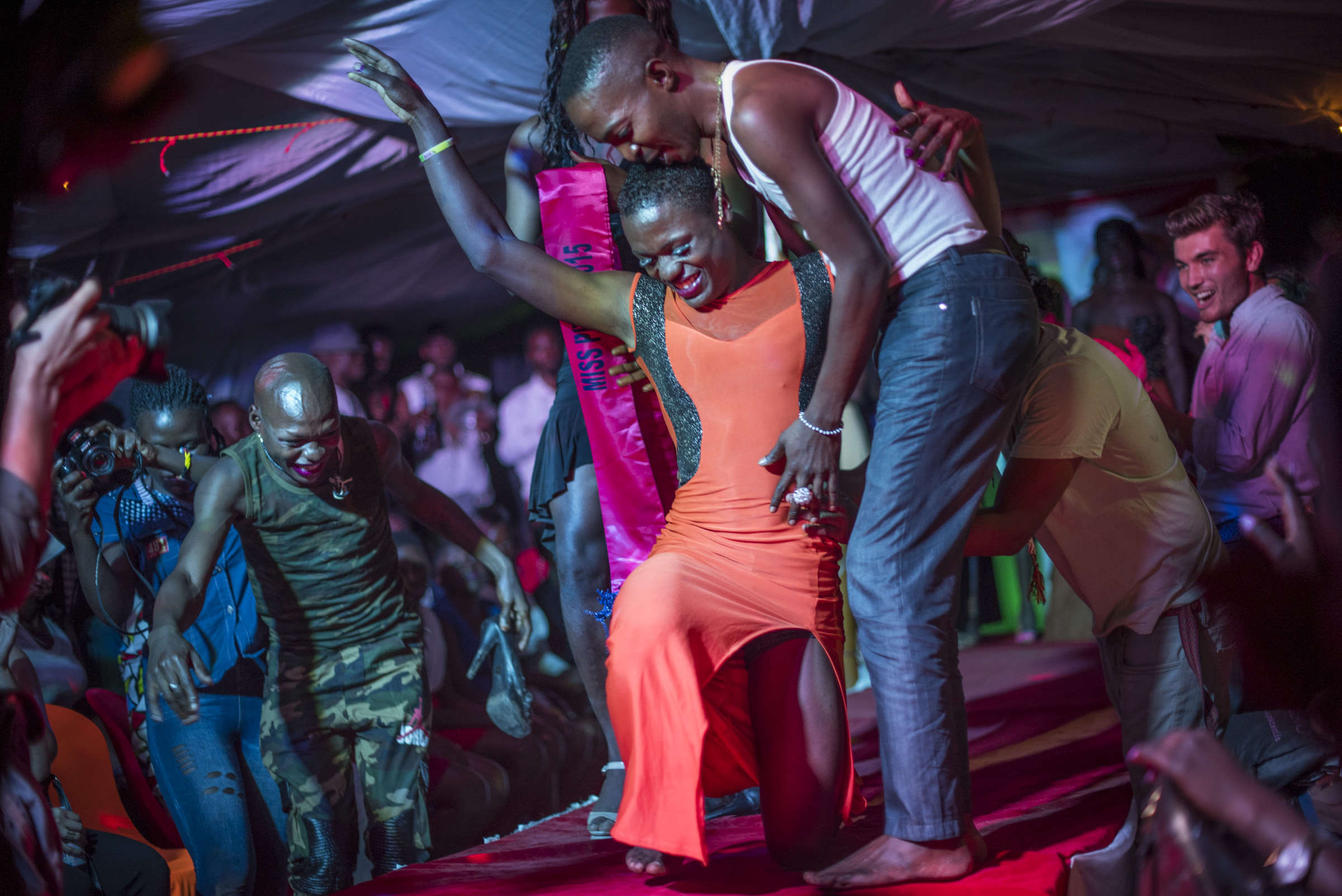 Miss Pride Uganda is announced and crowned. (Photo by Diana Zeyneb Alhindawi/GroundTruth)