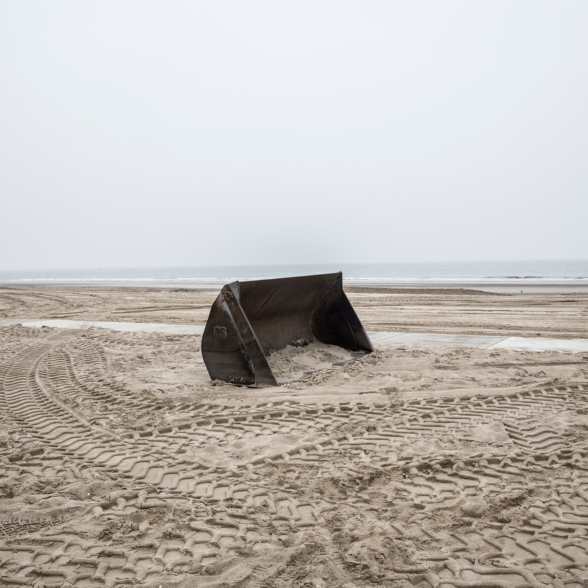 "Beach scenes near the Zandmotor (""sand engine"") project outside The Hague. (Photo by Joris van Gennip/GroundTruth)"