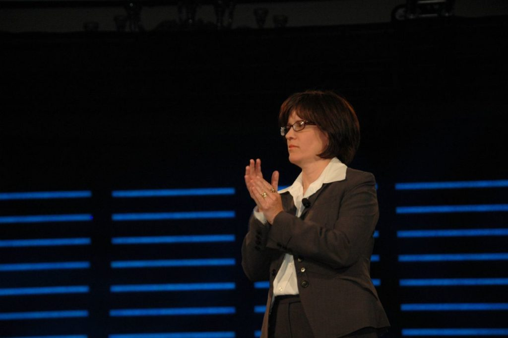 Kara Swisher, an influential journalist known for reporting of the tech industry and for creating, producing and hosting All Things Digital, the Wall Street Journal's technology conference. (Dan Harber/Flickr)