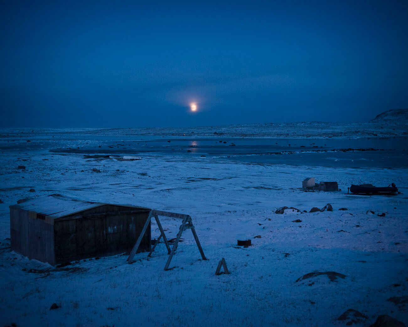 The Inuit, like many other indigenous nomadic peoples, have adapted to huge changes during the last century. Climate change is just the latest challenge. (Camilla Andersen/GroundTruth)