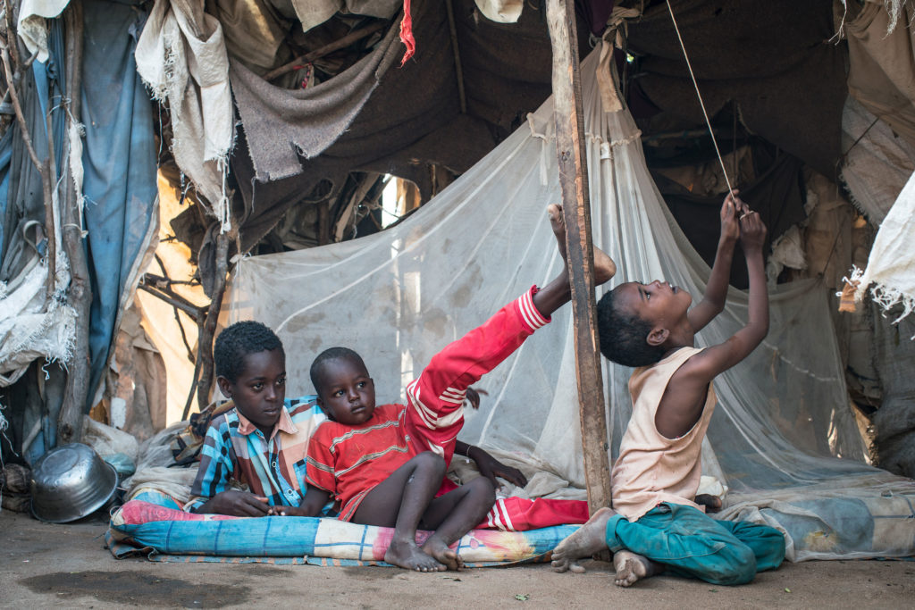 Sixty percent of the refugees in Dadaab are children. (Nichole Sobecki/GroundTruth)