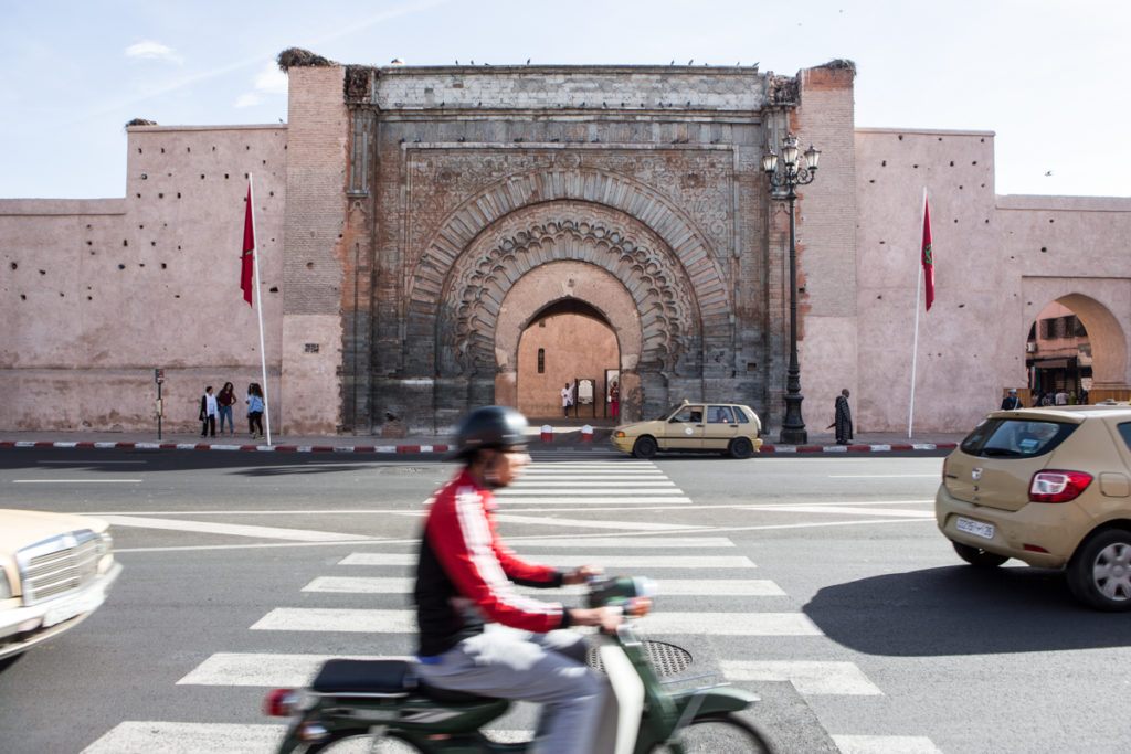 COP22 was held just outside the 12th century walls that surround Marrakech's medina. (Photo by David Tong/Flickr)