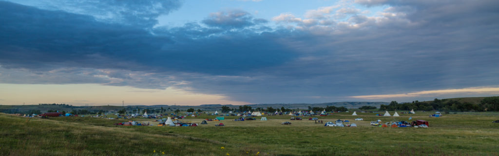 The Dakota Access Pipeline protest at the Sacred Stone Camp near Cannon Ball, North Dakota, on Aug. 25, 2016. (Photo by Tony Webster/Flickr User)