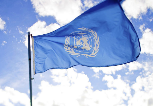 United Nations flag (Photo by Sanjitbakshi/Flickr User)