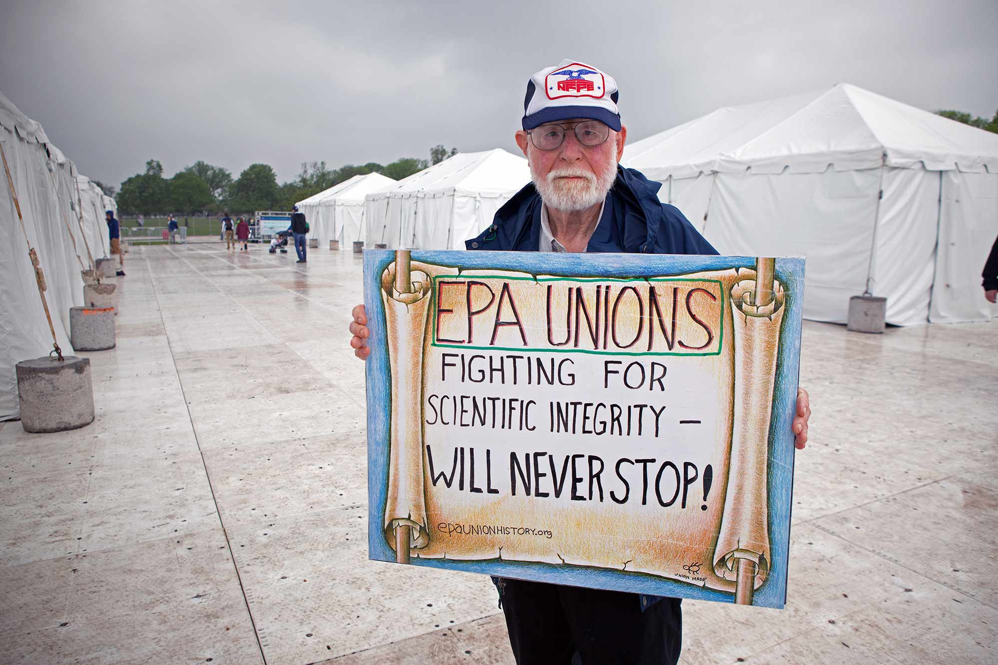 Bill Hirzy has worked for the EPA for 27 years.