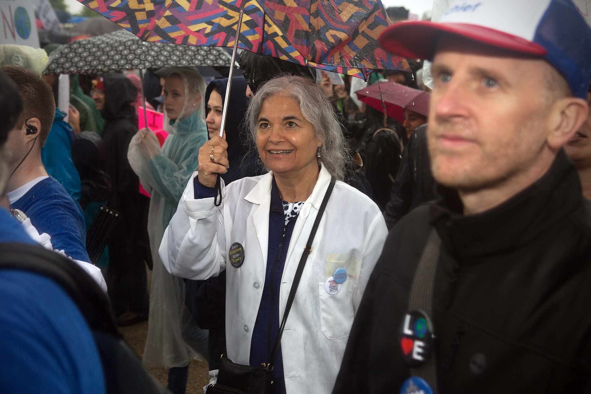 Doctor or scientistt Science March in DC.