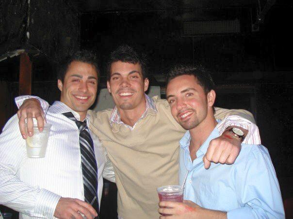 """Mike Gippetti (left) with his arm around his best friend Jamie Fish.  Gippetti and Fish both struggled with opioid abuse, a habit which eventually took Fish's his life. """"I wish I spoke up,"""" said Gippetti.  """"I wish I said something so bad. His family would've done everything they could to make sure what happened didn't happen."""" (Photo courtesy of Michael Gippetti)"""