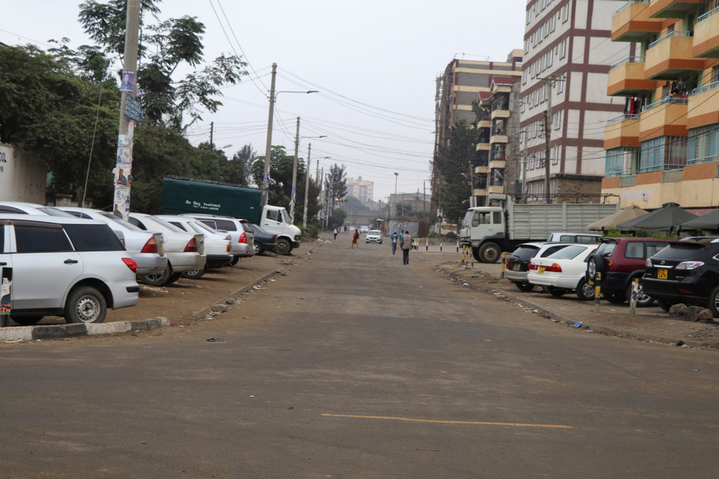 Streets in Nairobi, Kenya were empty as the country took to the polls to decide the outcome of the 2017 general election. (Neha Wadekar/GroundTruth)