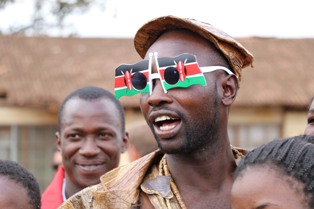 About 80% of Kenya's population is younger than 35. Observers believe youth voters will move Kenyan politics away from tribal affiliation and towards issue-based voting. But some experts say tribal affiliation runs very deep. (Neha Wadekar/GroundTruth)