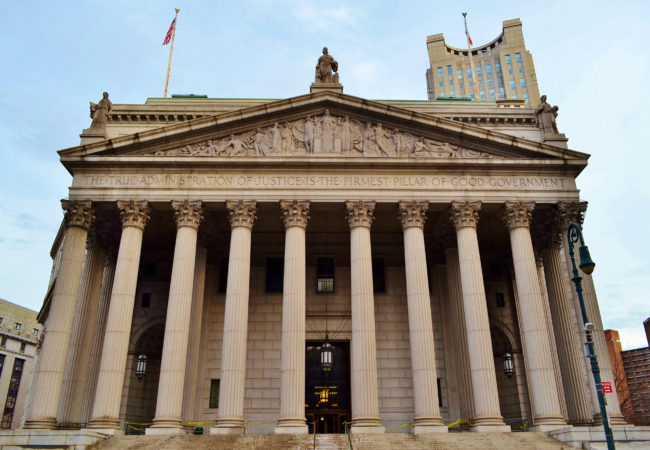 Beth Schwartzapfel has covered criminal justice issues all over the United States. Pictured, the New York County Supreme Court building in Lower Manhattan. (gigi_nyc/Flickr Creative Commons)