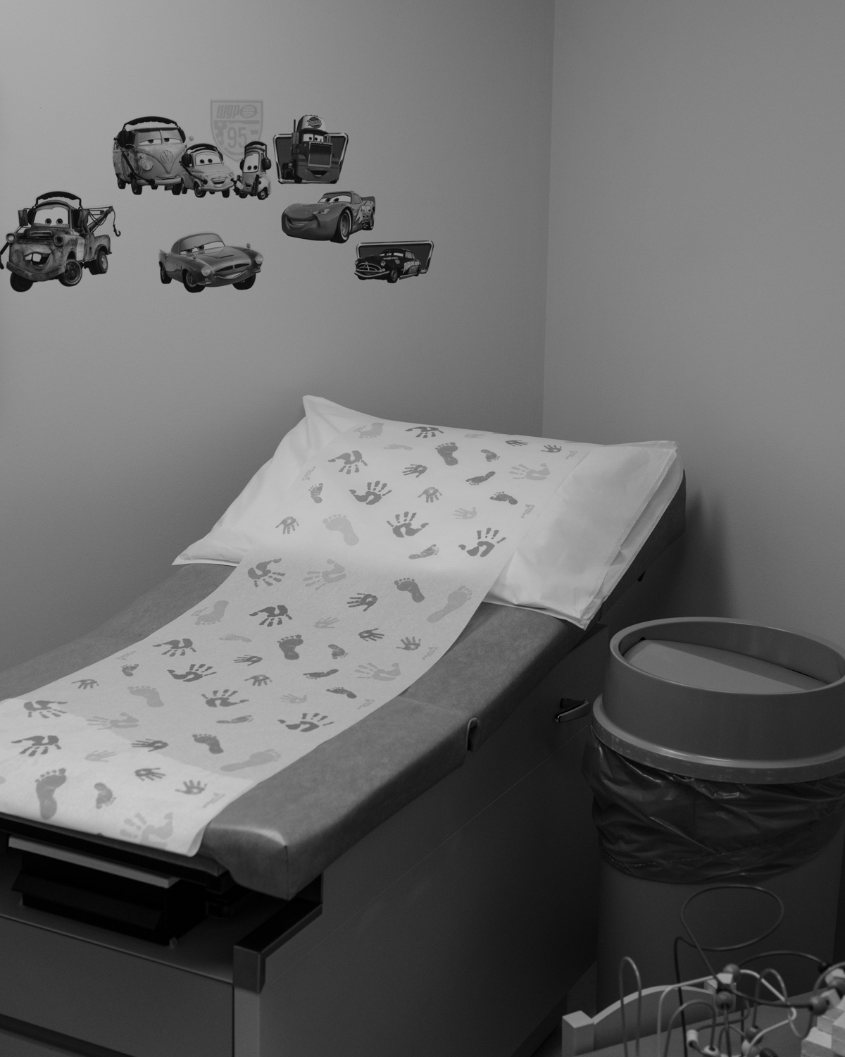 A pediatric room at Whitesburg Hospital.