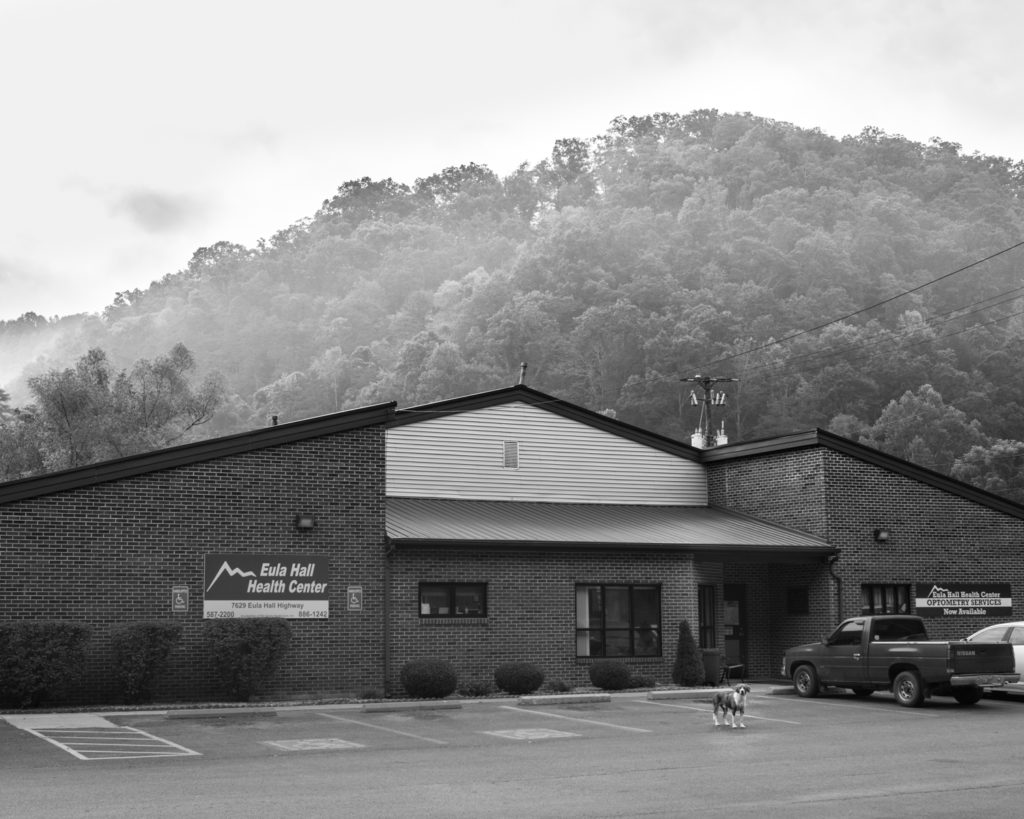 The Eula Hall Health Center in Mud Creek, Ky.