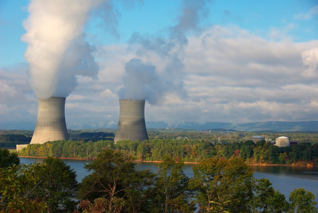 Sequoyah Nuclear Power Plant near Chattanooga, Tennessee. (Photo by Photorush/Flickr)
