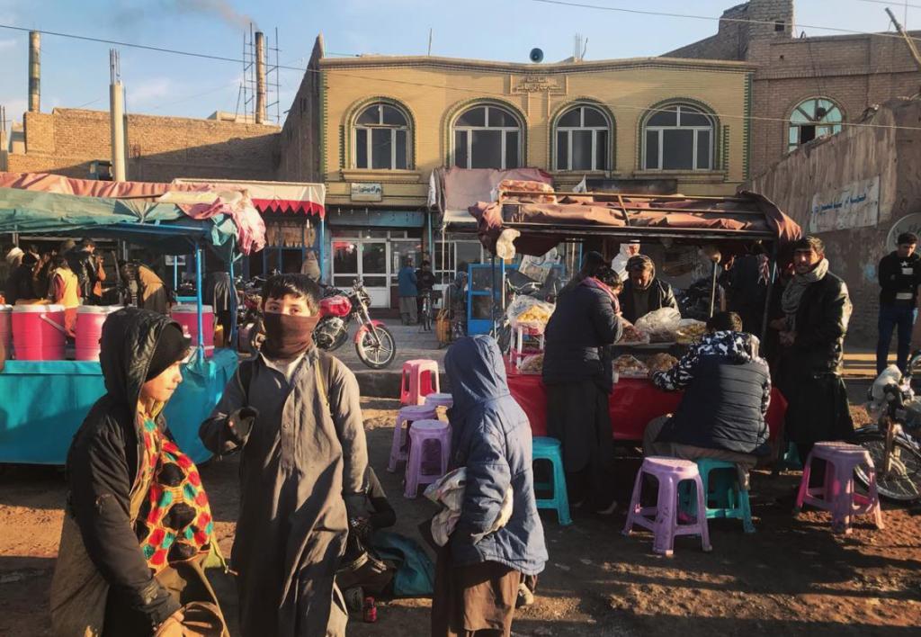 A market in Herat, Afghanistan (Lauren Bohn/GroundTruth)