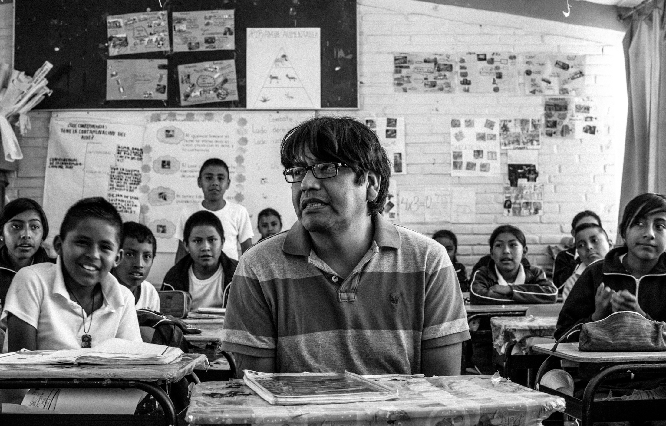 During his time in Mexico, Cabrera worked with the University of Puebla helping students who were deported from the United States with their education. (Maite H. Mateo/GroundTruth)