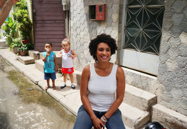 Marielle Franco, one of a handful of black women in Brazilian politics, was shot and killed in what police are calling an assassination. (Leonardo Coehlo/The GroundTruth Project)