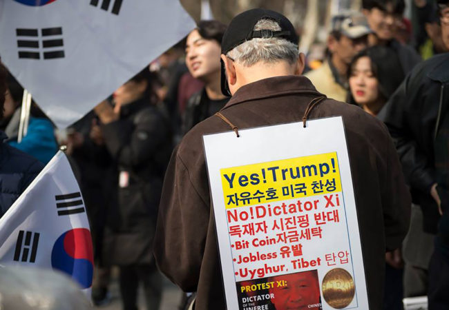 Religious beliefs, and the lack of it, help explain the political views Koreans hold. (Alan Mittelstaedt/GroundTruth)