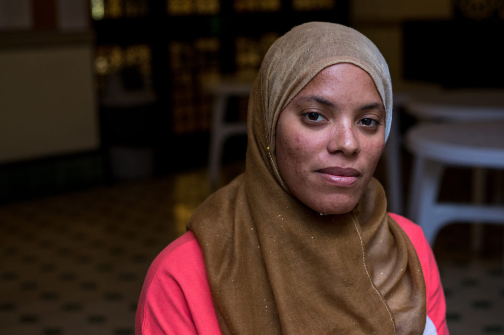 Isqura Arudin, 33, faced religious discrimination at her job as a teacher. She said she was told, 'you are Muslim and with that thing on your head you can't work in Cuba,' for wearing a hijab.