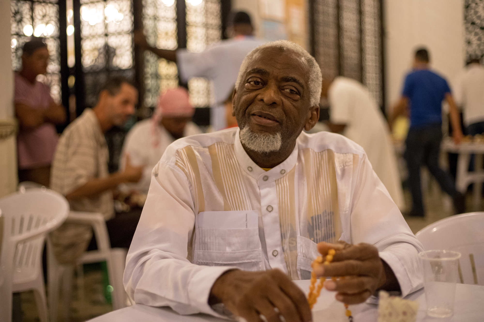 Pedro Lazo Yahya, 68, serves as the president of the Cuban Islamic League and has been practicing Islam for 38 years, making him one of the longest practicing Muslims in Havana.  (Photo by Riley Robinson/The GroundTruth Project)