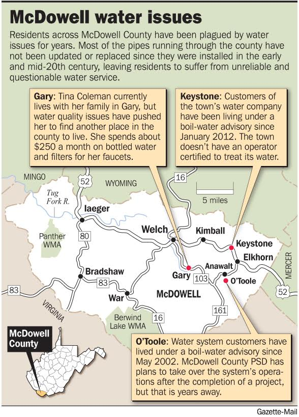 McDowell map