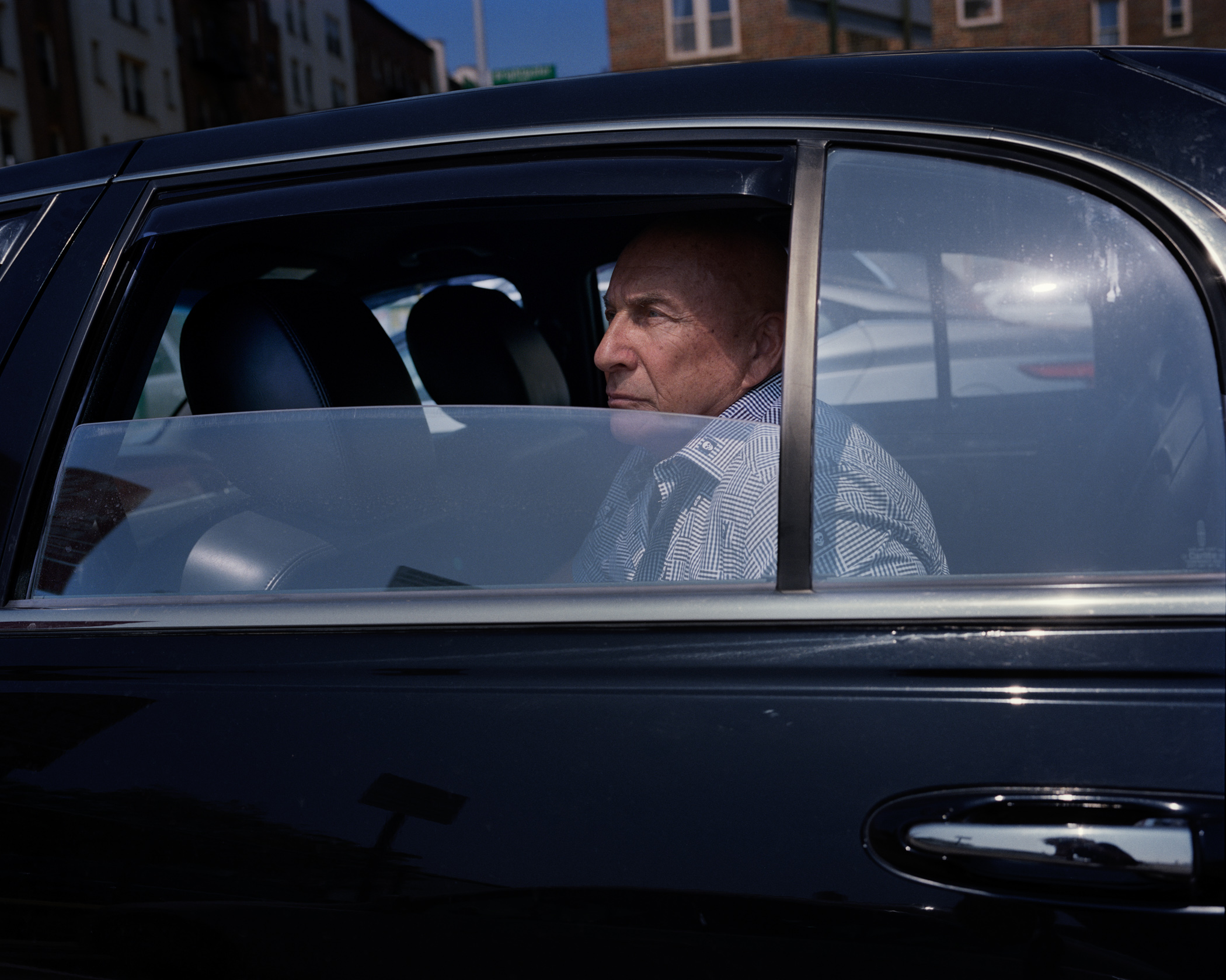 "Boris Nayfeld, 70, also known as ""Biba"", came to New York in 1979 from Belarus, USSR. Nayfeld is a former Brighton Beach mob boss who has been recently released from prison. (Photo by Alexey Yurenev/GroundTruth)"