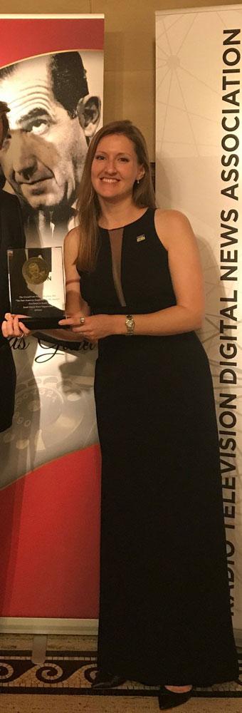 "Rachel Rohr led the team that won an Edward R. Murrow Award for our podcast season ""The New American Songbook."""