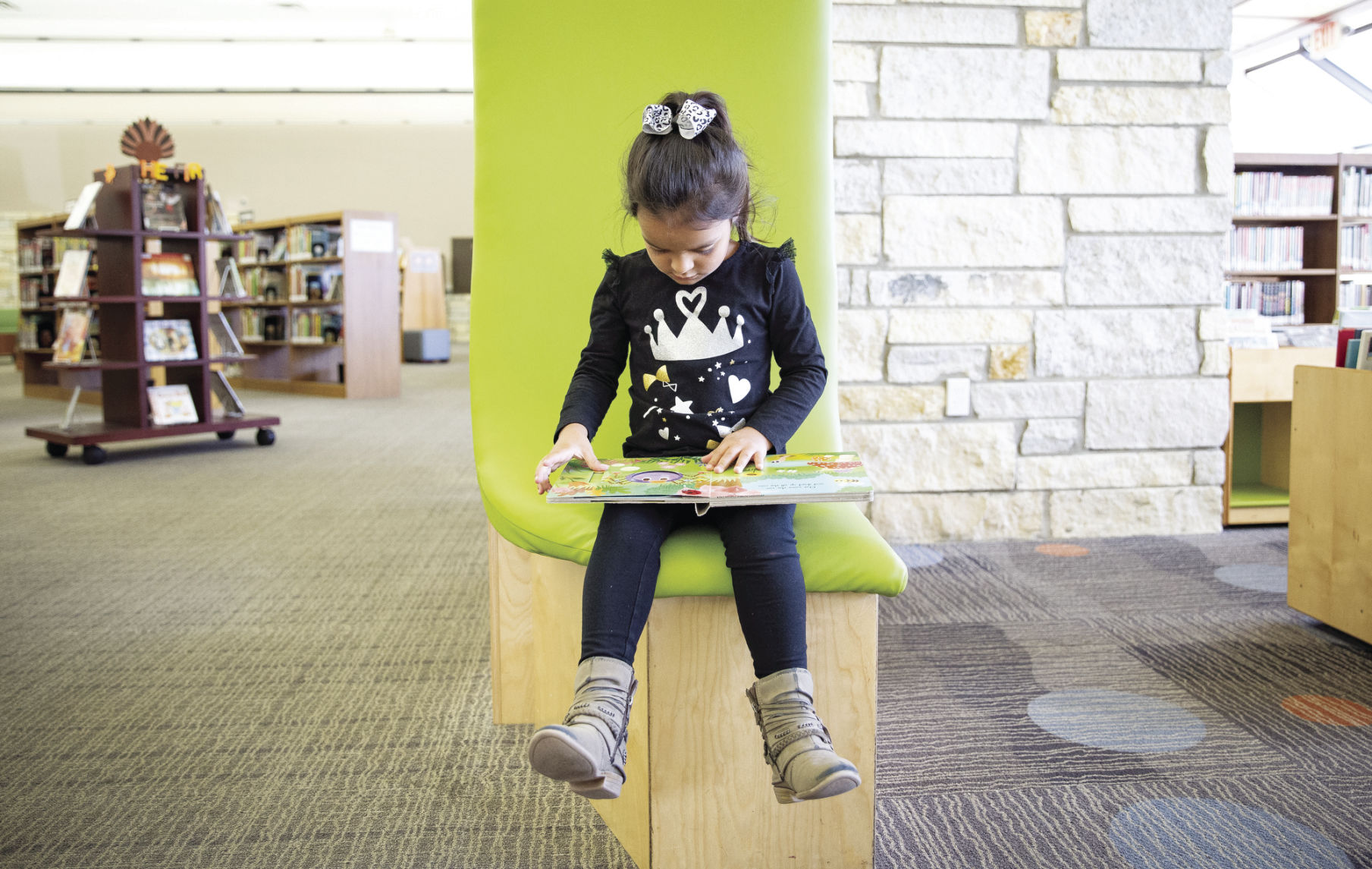 Many children would have lost access to the library if the city council had approved a proposal to require ID for patrons.
