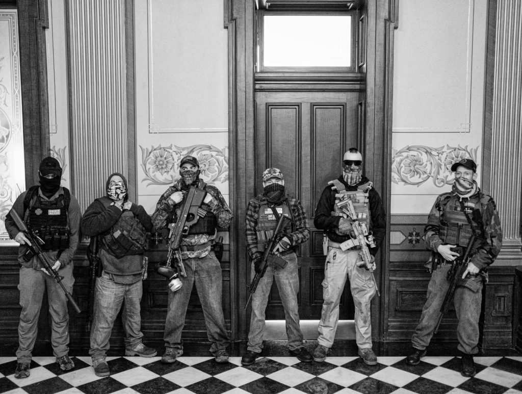 A Michigan standoff: Gun rights vs voting rights | The GroundTruth Project